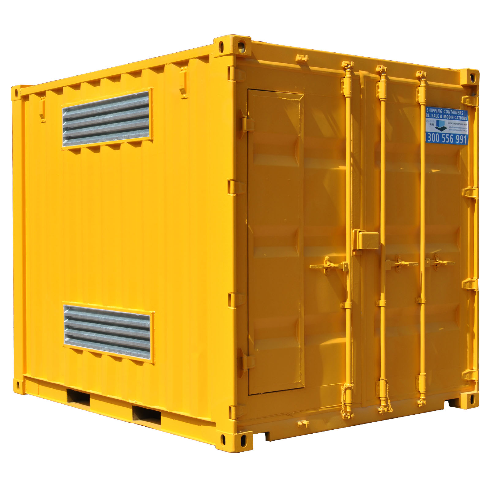 Dangerous good storage 10ft modified shipping container for Surface container