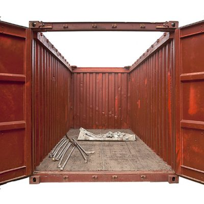 Second hand Open Top shipping containers 1