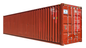 40ft High Cube B Grade Used Shipping Container