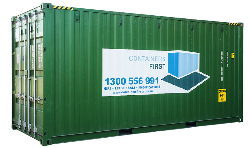 20ft 2 Pallet Wide High Cube shipping containers for sale