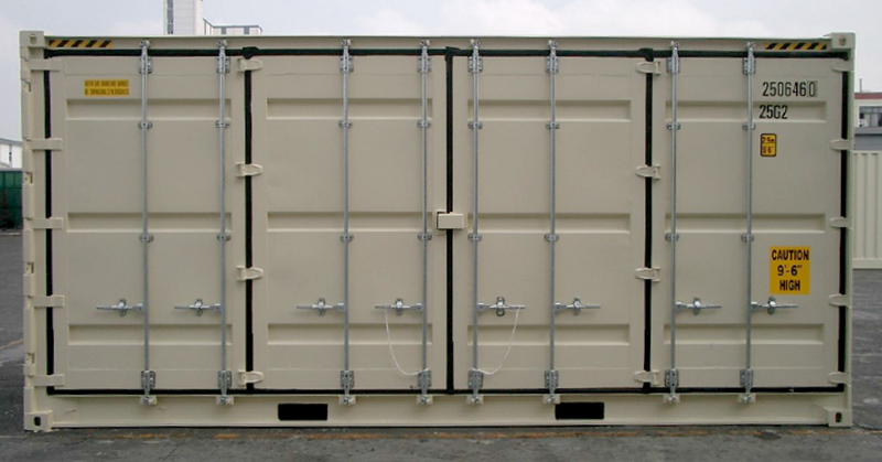 20ft Side door shipping container for sale