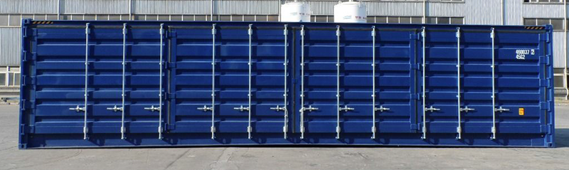 40ft side door shipping container for sale or for hire