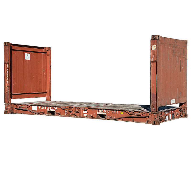 flat rack container shipping containers for sale national depot network. Black Bedroom Furniture Sets. Home Design Ideas