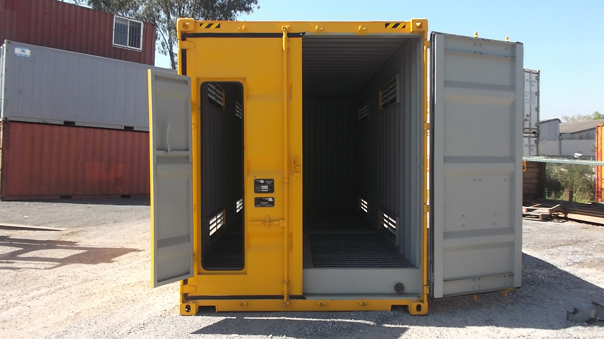 20ft High Cube Dangerous Goods Container Shipping