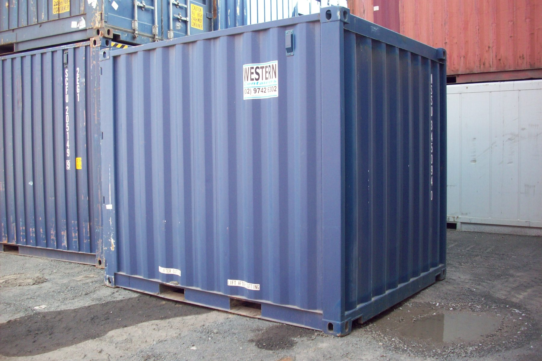 10ft ex hire fleet shipping containers for sale national depot network. Black Bedroom Furniture Sets. Home Design Ideas