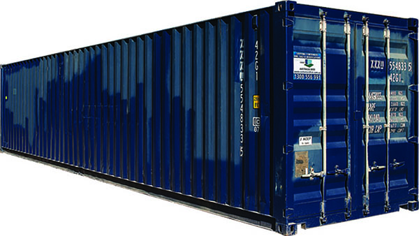 40ft second hand shipping container for sale