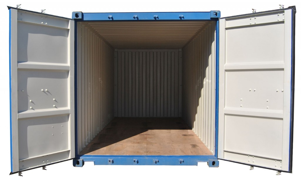 Buy a Used Premium Grade 20ft Shipping Container INSIDE