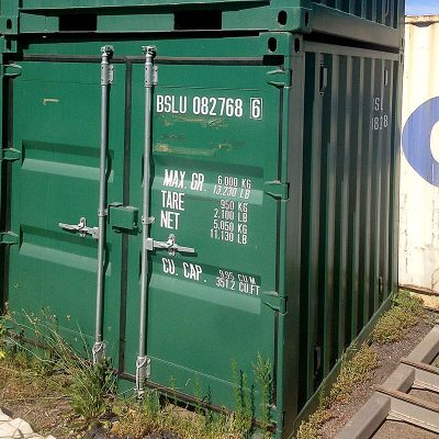 8 FOOT NEW (ONE WAY) SHIPPING CONTAINERS 12 IN STOCK. MAKE AN OFFER!!! AS NEW, ONLY SHIPPED ONCE