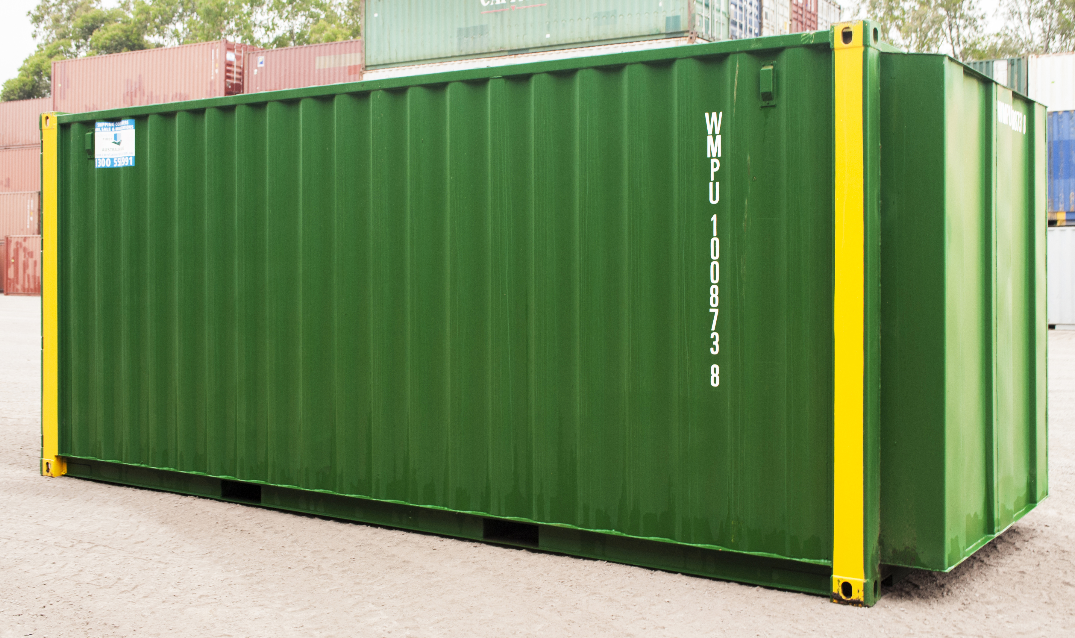 21ft Tradies Container Fits 6 Metre Lengths Shipping