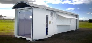 Shipping container workshop - Modified Shipping Container - Earthed Munitions and Explosives Shed 1