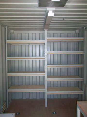 ?Endeavor Energy Mobile Shipping Container Workshop? - Modified Shipping Container - Endeavor