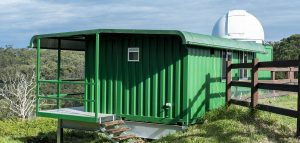 Shipping container building