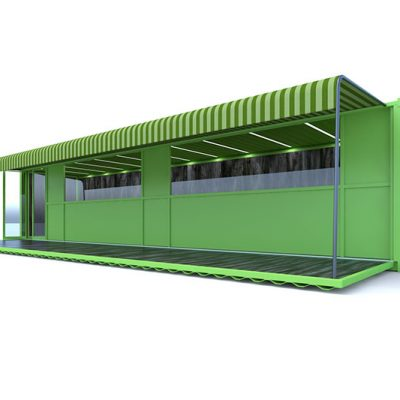 Contianer Design & Build Container Rendering
